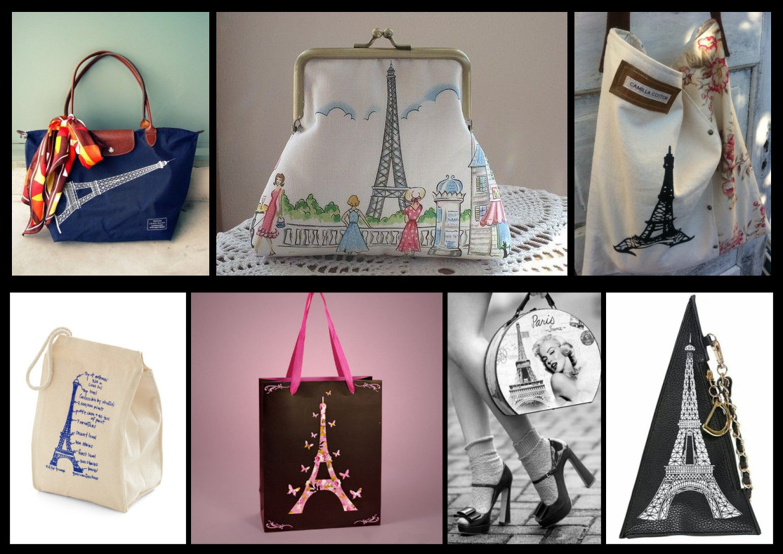 Eiffel Tower Bags