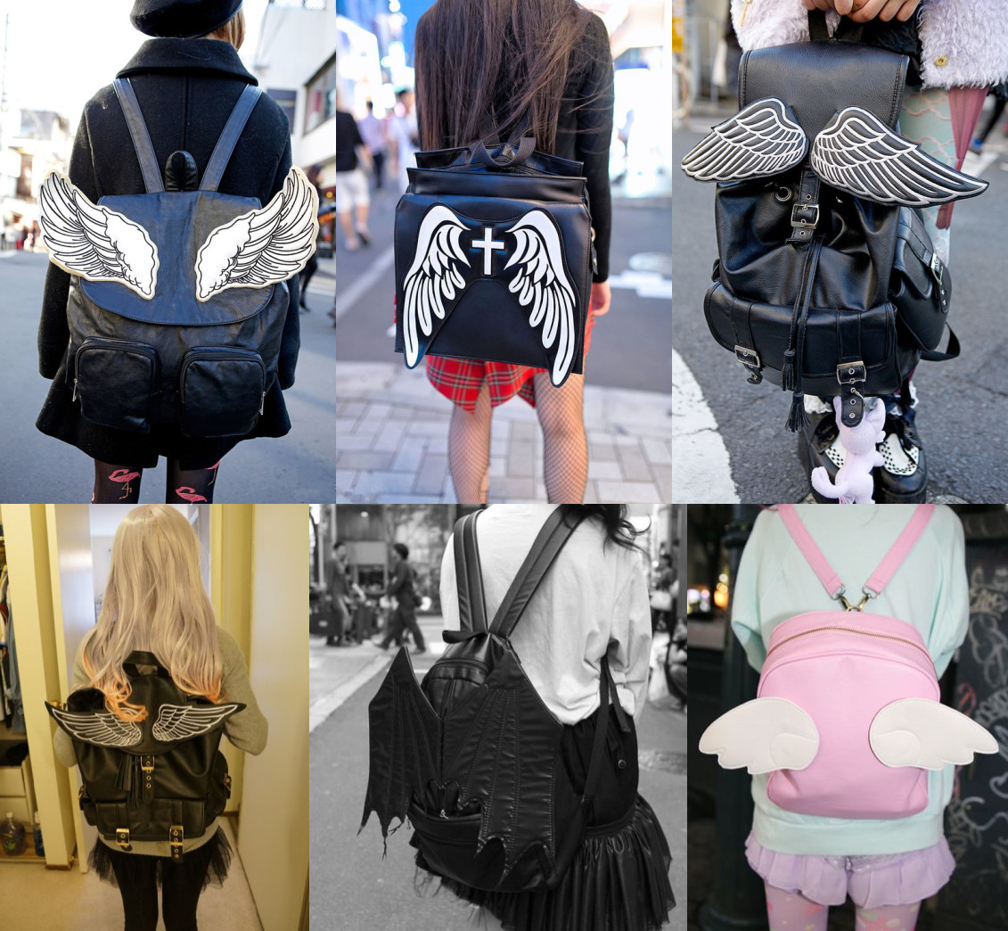 Wings Backpack Fashion