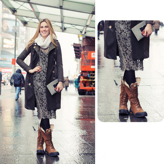 How to Wear Snow Boots to Look Slim and Chic - Chic Front丨Supreme ...