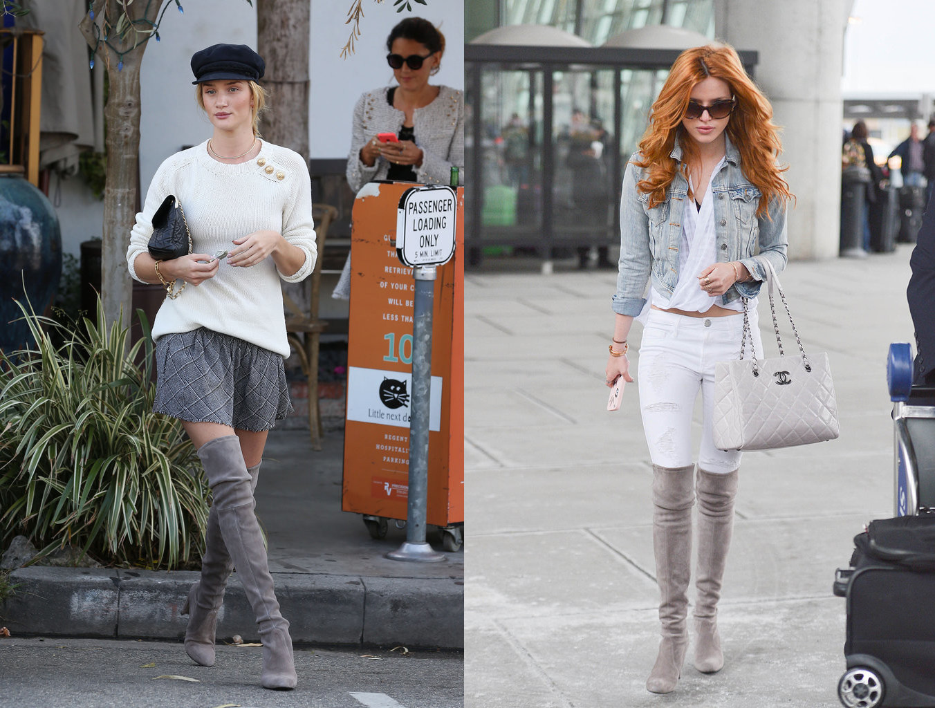 over knee boots fashion