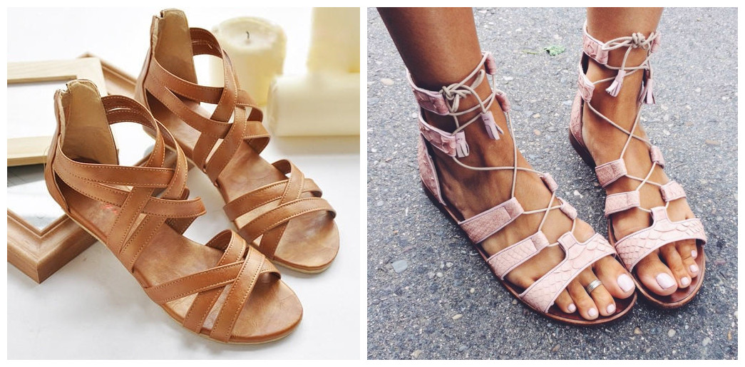 Summer Strappy Flat Sandals 5