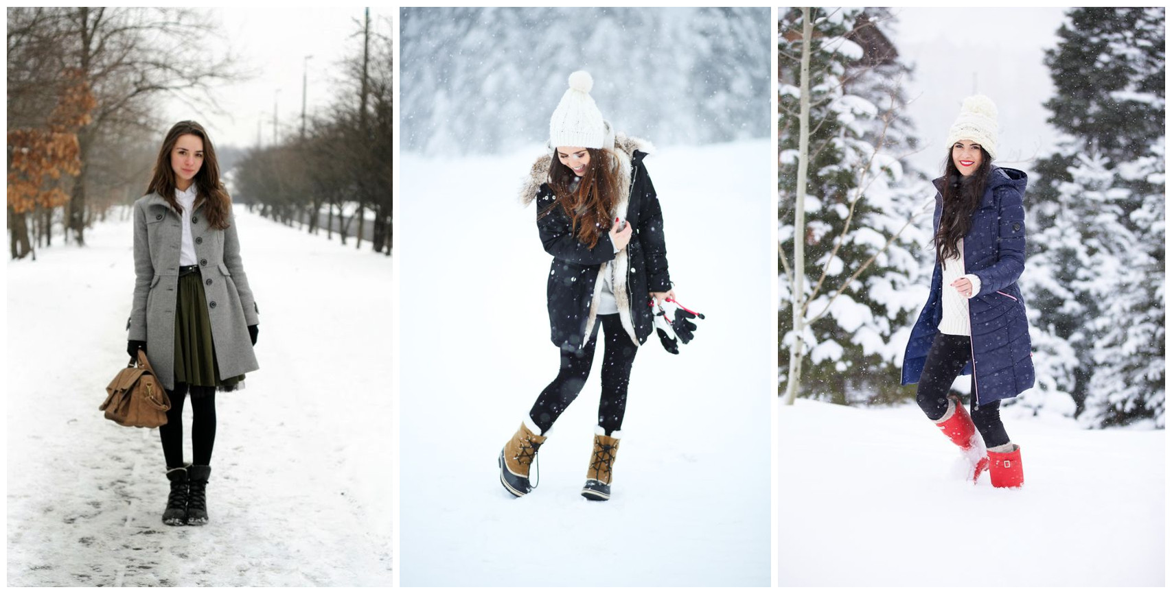 women ankle snow boots