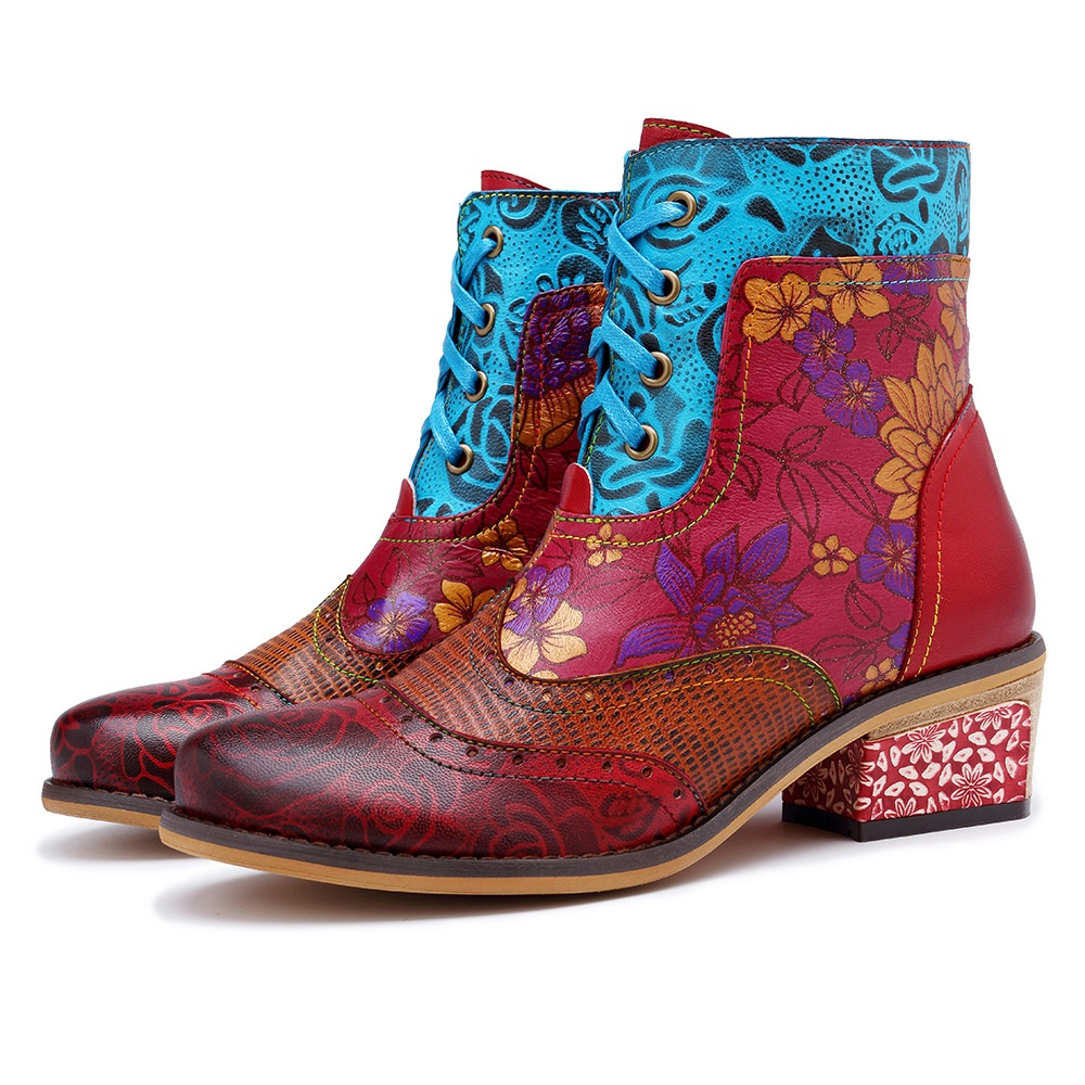 socofy ankle boots